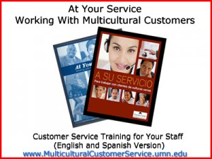 Customer Service Training program spanish english 300x225 At Your Service:Working with Multicultural CustomersStaff Training[English/Spanish]