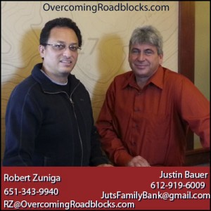 robert zuniga justin bauer 300x300 Change Your Bank, Get Financial Freedom