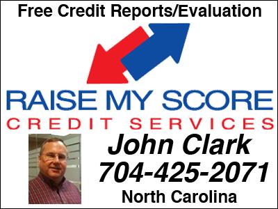 Free Credit Scores-North Carolina